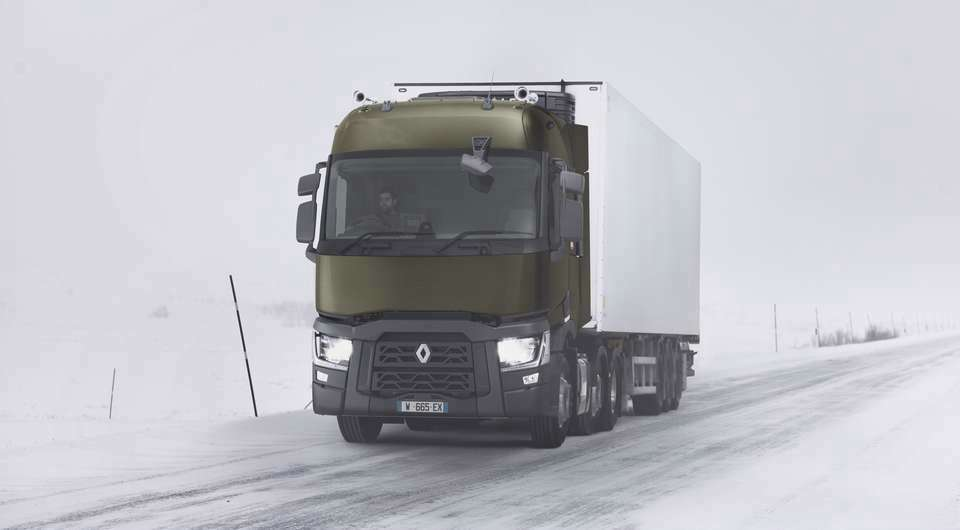 Renault Truck. Goodyear как первичная комплектация
