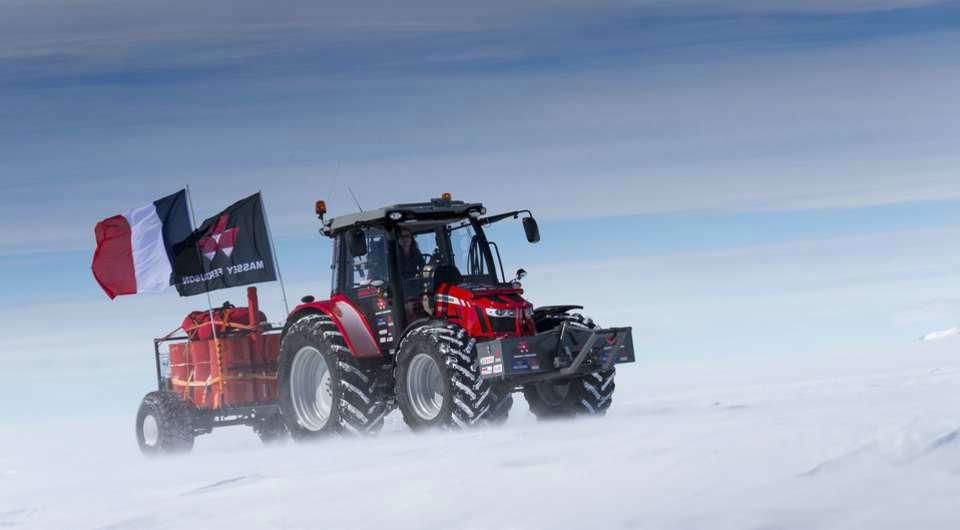 Massey Ferguson двинулся к Южному Полюсу