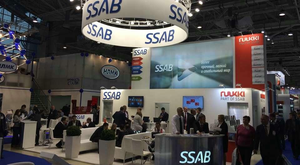 SSAB на выставке «Металл-Экспо»