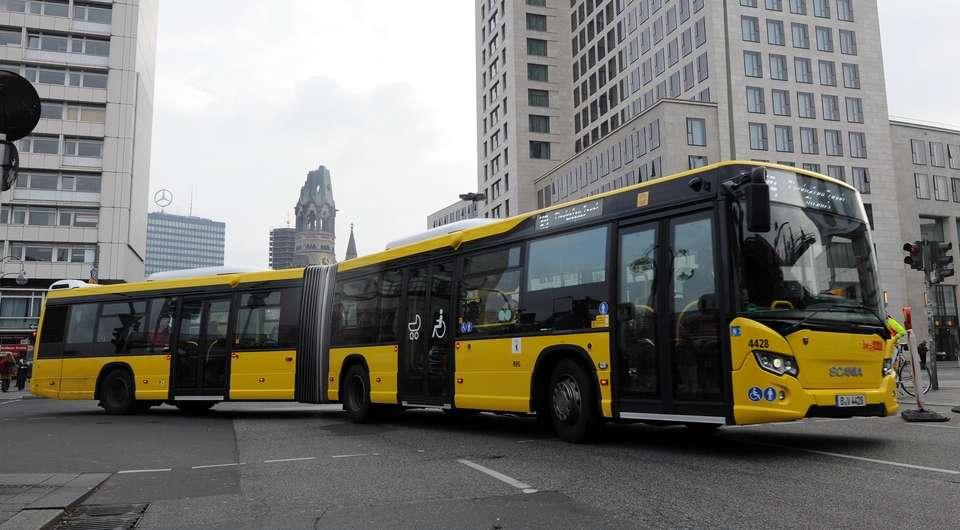 Автобусы Scania завоевывают Берлин