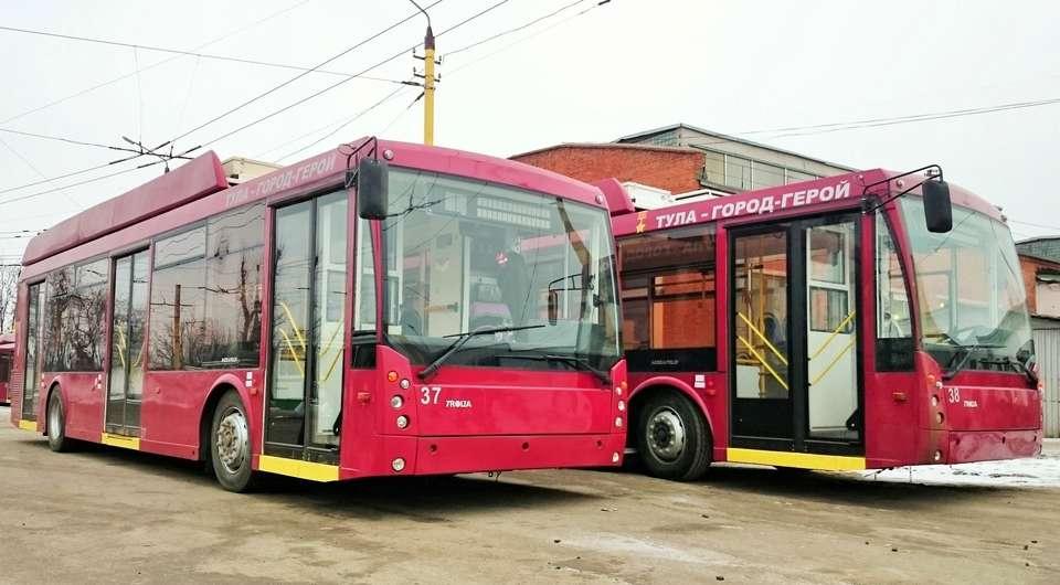 По Туле – на троллейбусах с автономным ходом