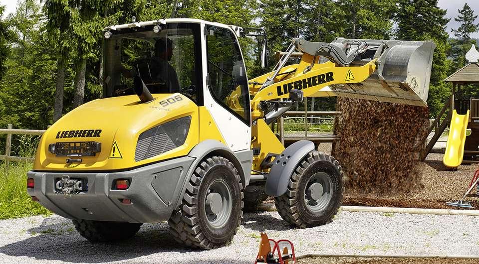 Liebherr L506. Компактный и легкий