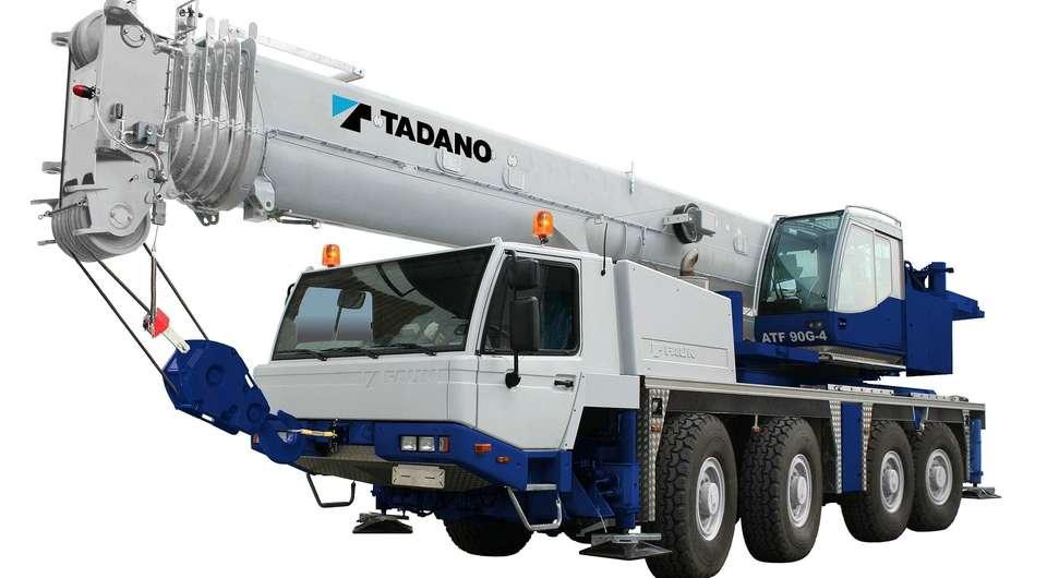 TADANO модернизирует 70-тонный и 100-тонный автокран