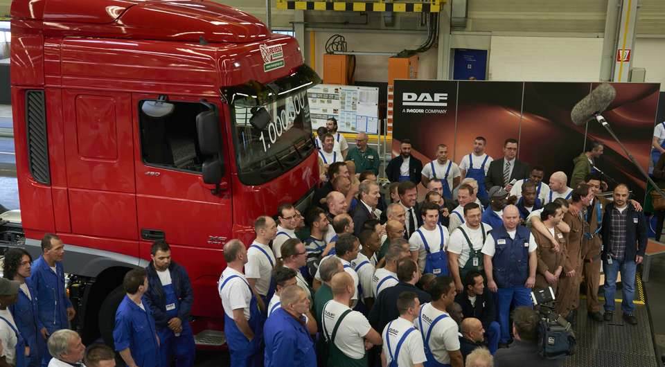 DAF в Эйндховене: есть миллионный грузовик!