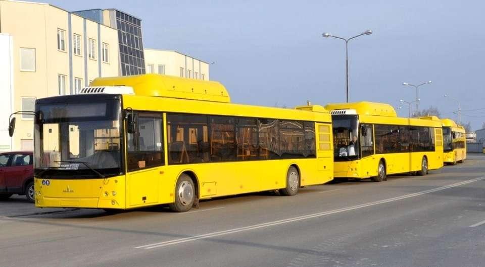 Минсктранс закупает газовые МАЗы