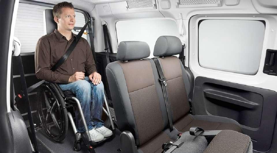Volkswagen. Инвалиды будут довольны!