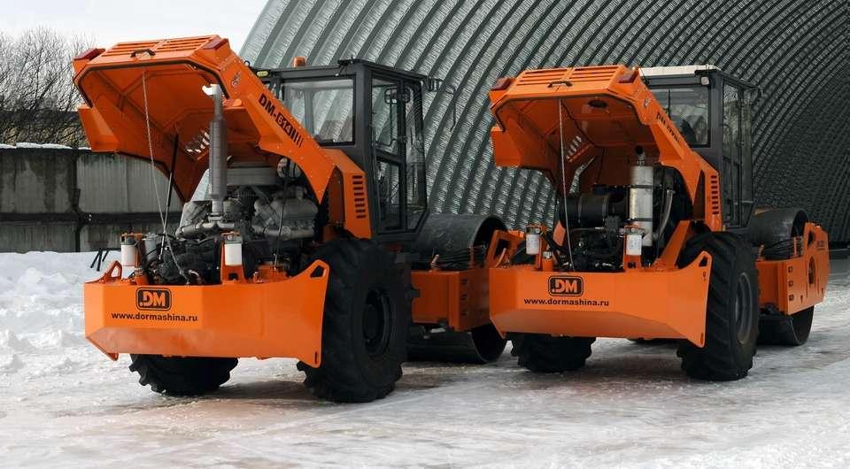 Грунтовые катки DM62 стали покорителями Арктики