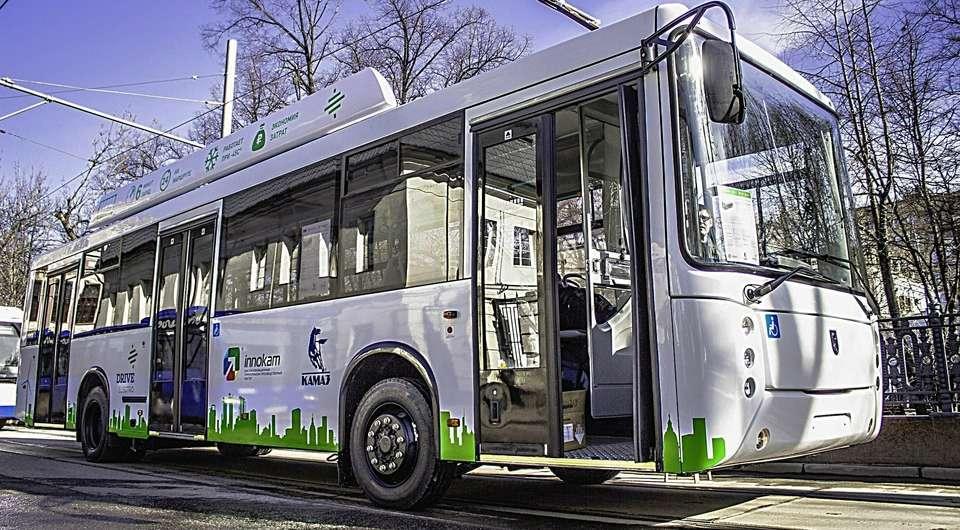 Drive Electro. Новый электробус показан в Москве