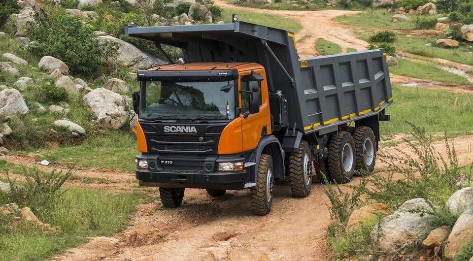 Scania P410 для индийской горнодобывающей компании