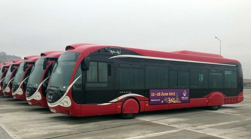 IVECO. 300 автобусов для азербайджанской столицы