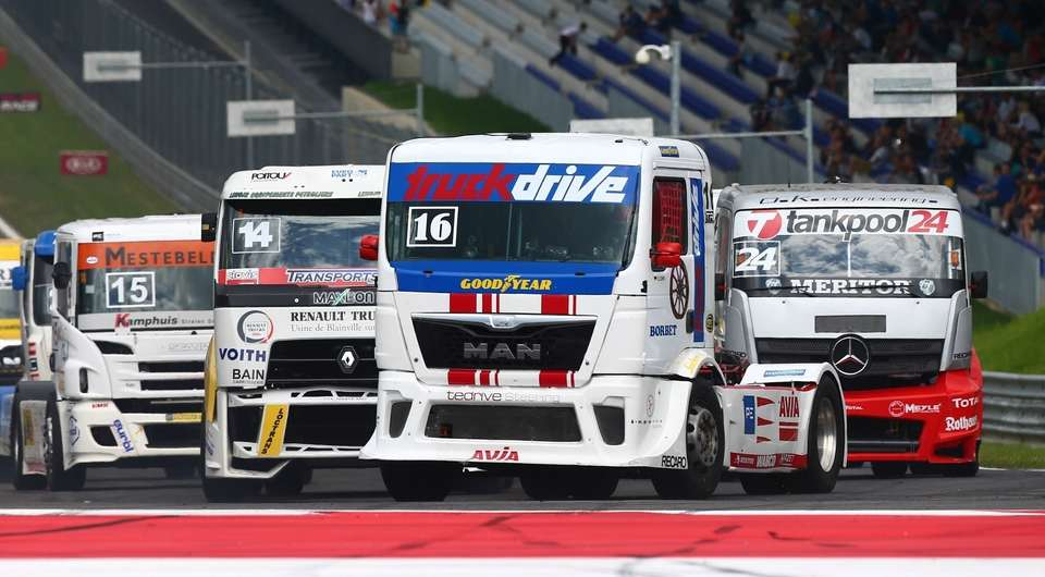 Goodyear обеспечит «обувкой» грузовиков-спортсменов