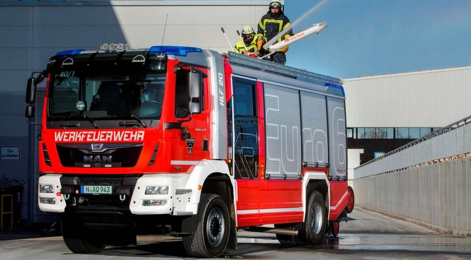 MAN TGM – пожарным расчетам