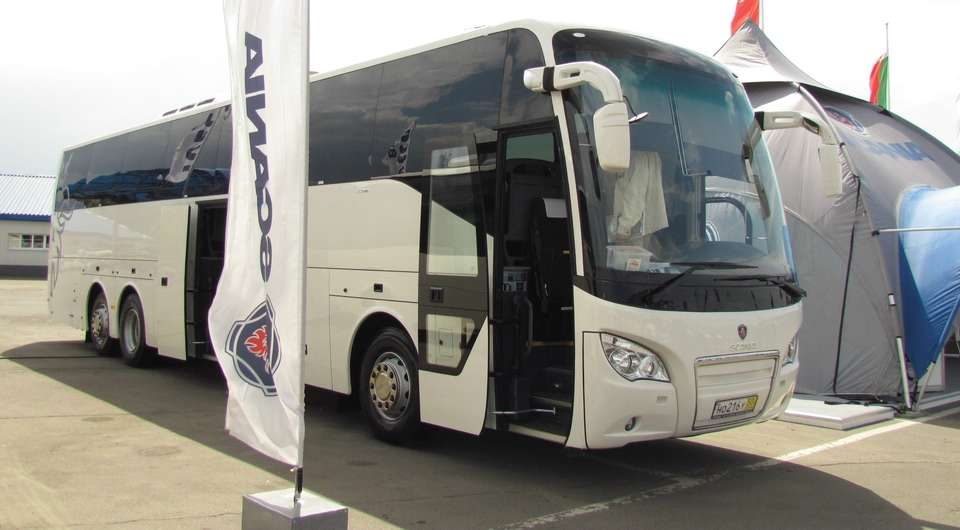 Scania Higer будут тестировать в Коломне
