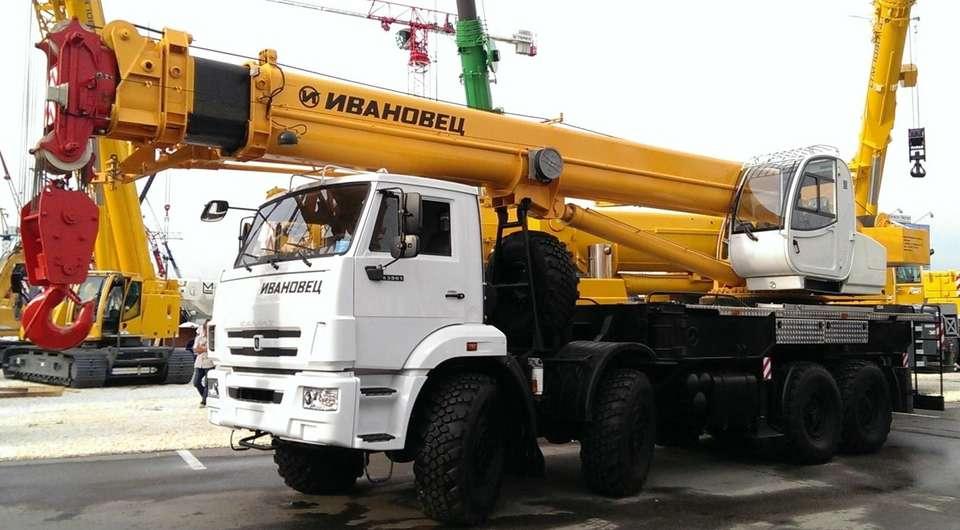 «Газпром-кран»: облегченный 40-тонник