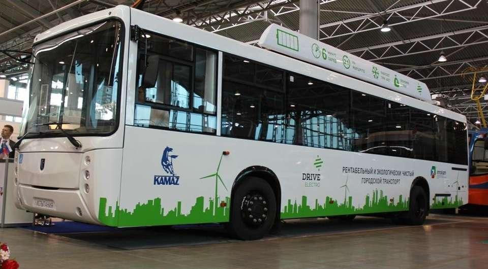 Электробус КАМАЗ-52994Э начнут эксплуатировать в Санкт-Петербурге