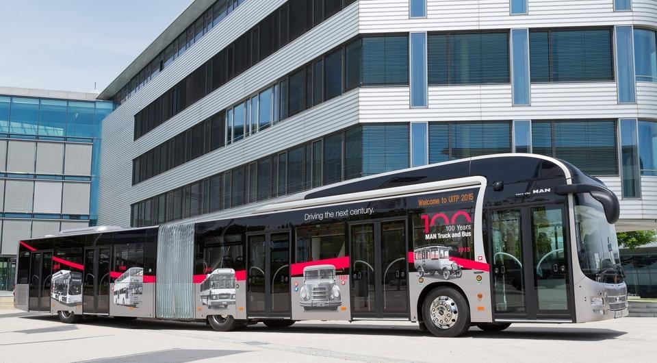 MAN Lion's City GL. Автобусный концепт приехал на 100 лет