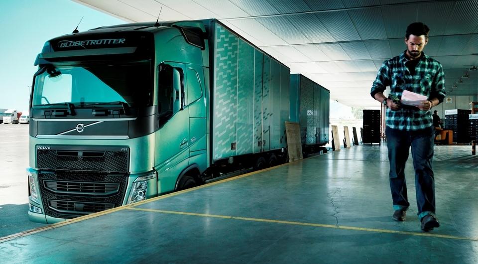 Volvo Trucks. Координаты в реальном времени