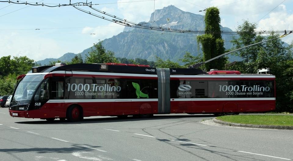 Solaris. Есть тысячный троллейбус!