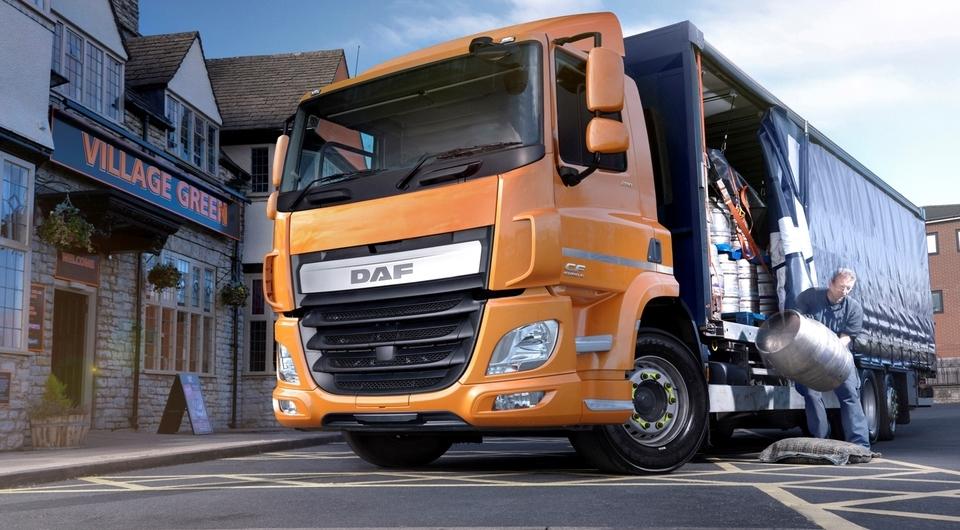 DAF CF. Три оси и 6,7-литровый дизель