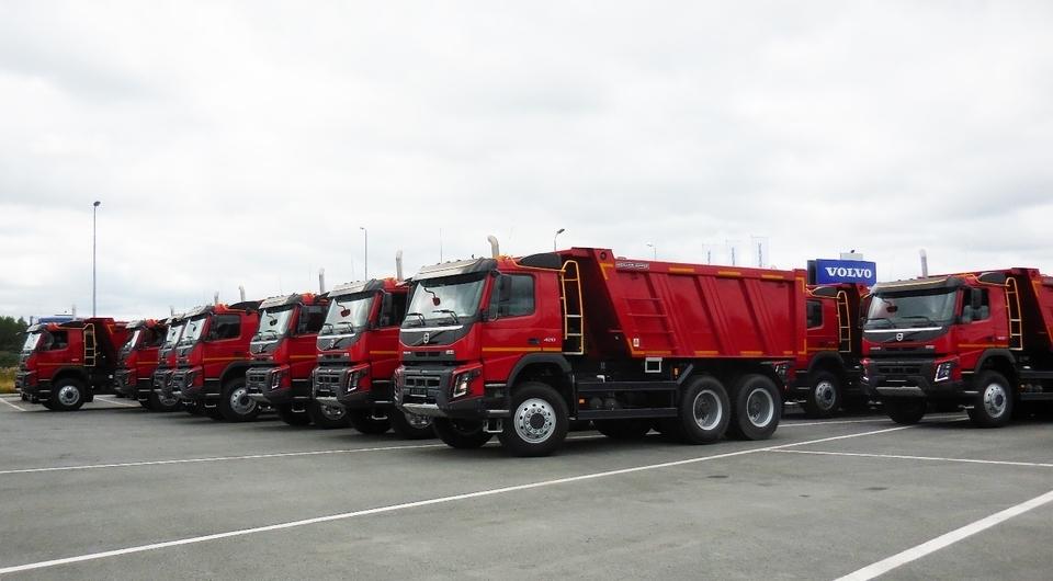 Volvo FMX для компании «ЛесСтройРеконструкция»