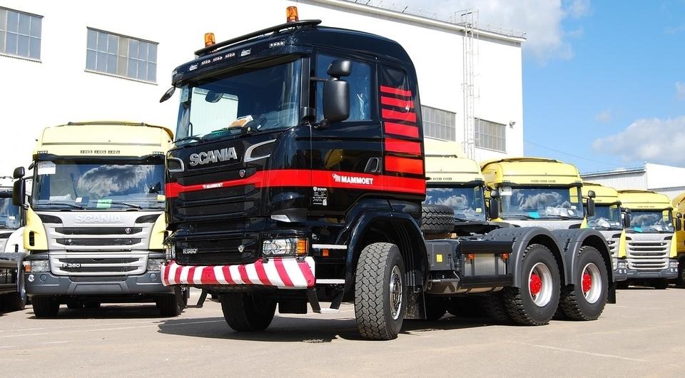 Тягач Scania для сверхтяжелых перевозок поставлен на Ямал