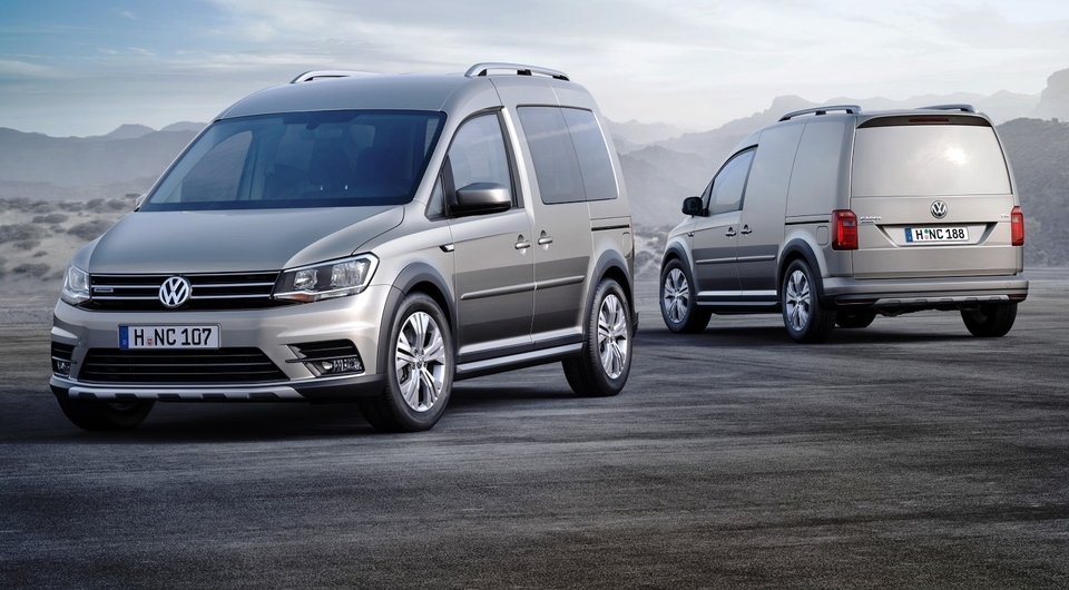 Caddy Alltrack идет на смену Cross Caddy