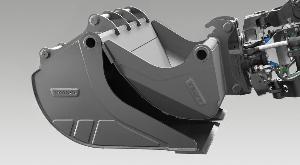 Volvo CE: Приложение для подбора навесного оборудования