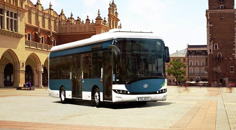 Solaris поставит электробусы в Краков