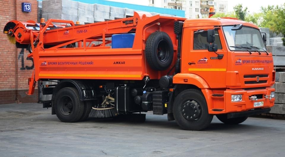 ПУМ-6Х. Универсальный дорожный уборщик от «Коминвест-АКМТ»