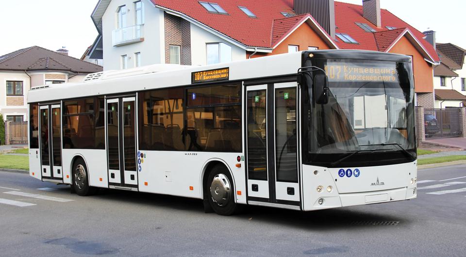 МАЗы для сербских пассажиров