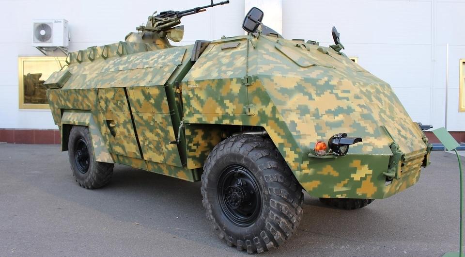 Украинский «ОВОД»: броня для любого грузовика