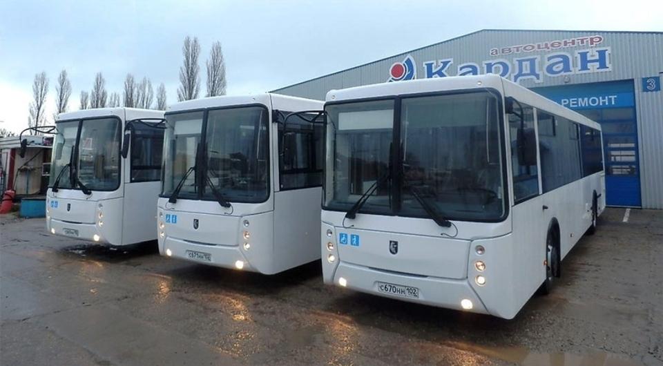 Калининград получил нефтекамские автобусы