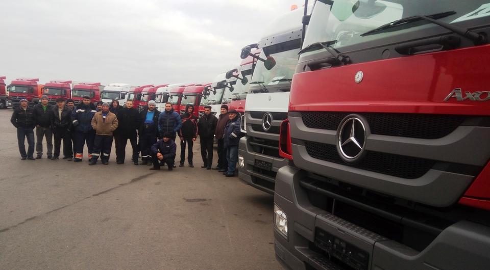 Mercedes-Benz Axor отправляются в Ростов-на-Дону
