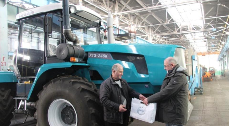 Харьковским тракторам – дизели Volvo