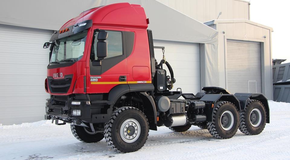 Halliburton: ставка на тягачи Iveco-AMT