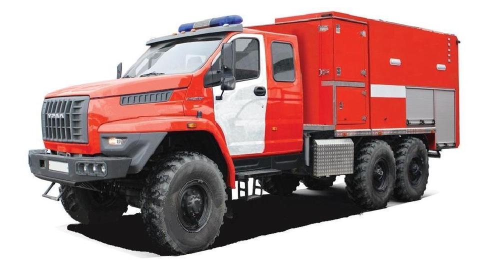 «Урал NEXT»: пожарный «Приоритет»