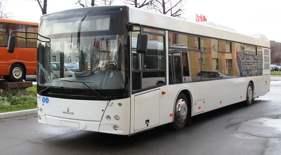 МАЗ поставил автобусы в Санкт-Петербург