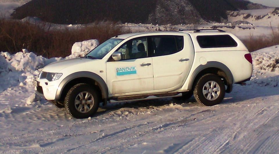 Sandvik: мониторинг внедрен на собственный транспорт