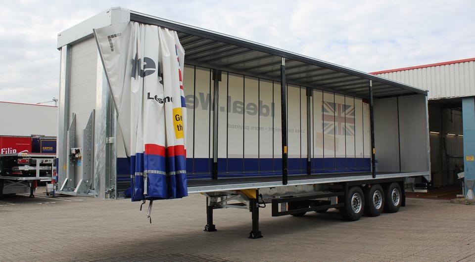 Schmitz Cargobull: полуприцеп на английский манер
