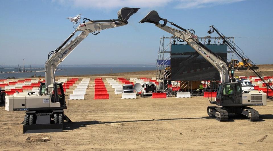 Техника «РМ-Терекс» открыла конкурс дорожных строителей