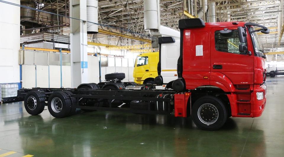 Магистральник КАМАЗ-65208 – в опытно-промышленной сборке