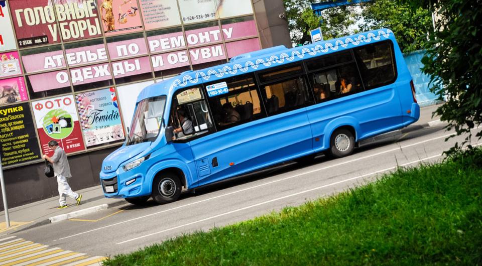 «Автолайн» пополнил парк маршрутками Iveco Daily