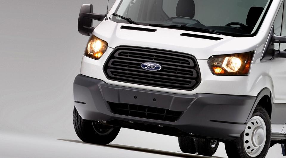 Ford Transit повезет замороженные продукты