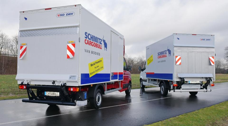 Schmitz берется за фургоны-малотоннажники