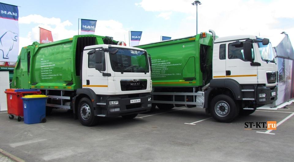 MAN и GeesinkNorba: совместное продвижение мусоровозов в России