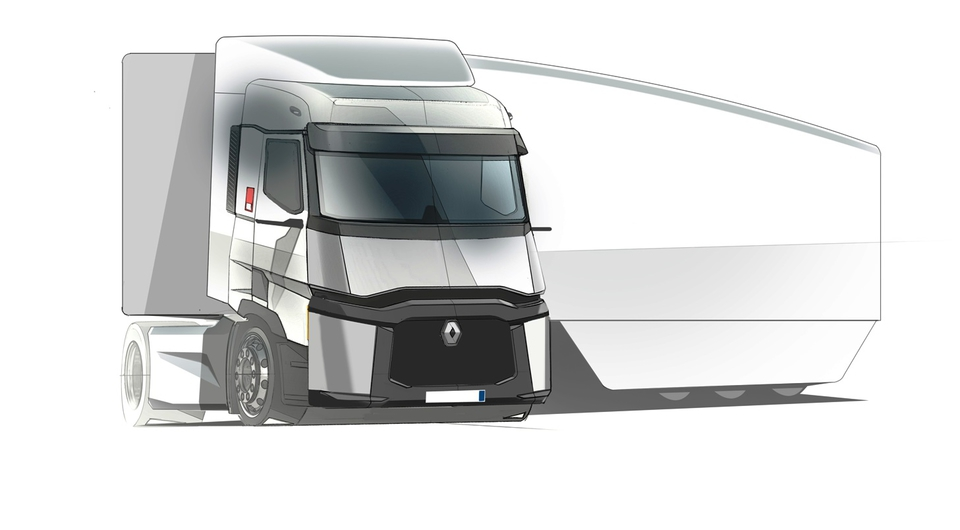Renault FALCON: инновационный автопоезд на перспективу