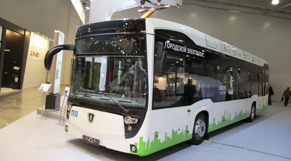 «Мосгортранс» получил электробус КАМАЗ второго поколения