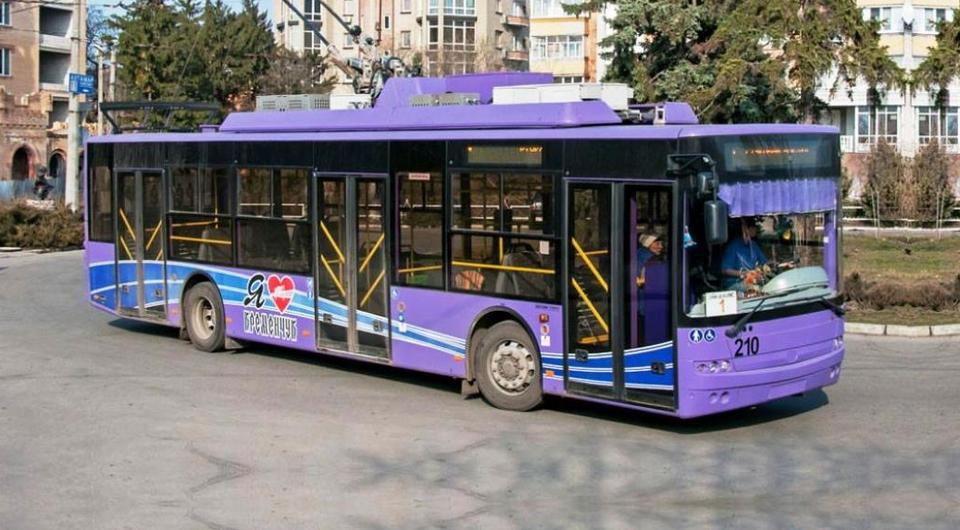 Троллейбусы «Богдан» начали поступать в Кременчуг