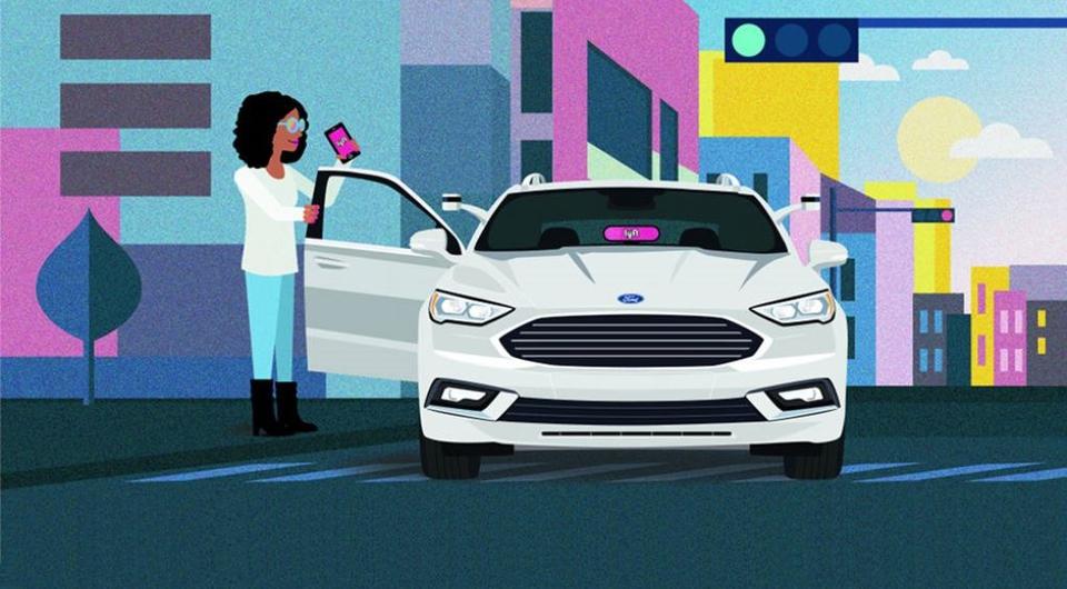 Ford и Lyft совместно продвинут беспилотные такси