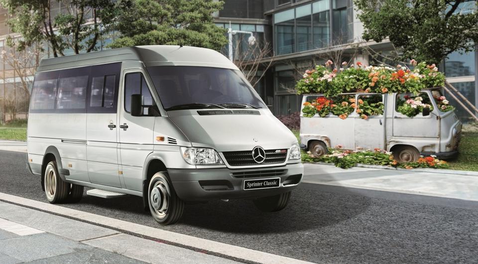 Mercedes-Benz Sprinter Classic: есть 50% локализации!
